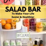 DIY Salad Bar to Save Time & Be Healthier