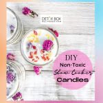Non-Toxic DIY Slow Cooker Flower Candles